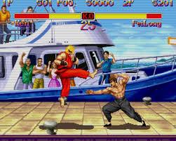 games street fighter