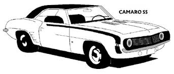 Small Picture 1969 Chevrolet Camaro SS coloring page Free Printable Coloring Pages