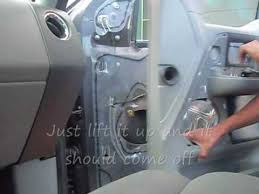 how install side view mirror on a ford