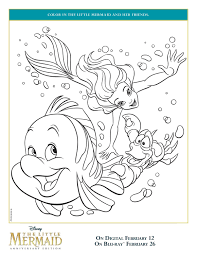 You can find and choose with your preschooler your favorite coloring pictures like a cute kitty cat, dino, teddy bear kids are getting used to working with sheets and books (coloring books). The Little Mermaid And Friendsg Page 1159 1500 Pages Activity Sheets Crazy Disney Free For Kids Coloring Madalenoformaryland