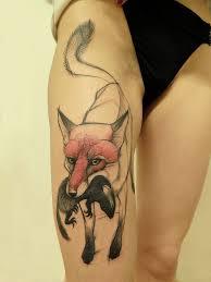 тату лиса значение фото и эскизы татуировки