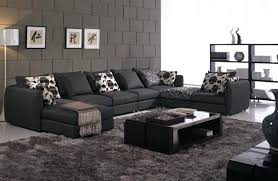 black sectional couches. Brilliant Black Black Sectional Sofa The Best Choice For Living Room Within Couches  Decorations Leather Near Me Full And W
