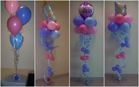 how to make balloon decorations for baby shower image cabinets and