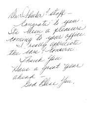 Thank You Notes Wichita Ks Wheeler Chiropractic