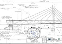 architectural drawings of bridges. Contemporary Bridges A Partial Elevation Is Shown From Design Drawings For The Bridge Stamped By  Engineerofrecord Intended Architectural Drawings Of Bridges I