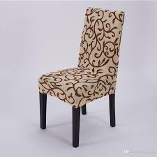chair covers for home. Elastic Force Chair Cover Slipcovers Dining Room Wedding Party Banquet Short Covers Home Textiles Parsons Recliner Sofa For I