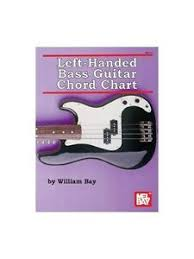 Details About Left Handed Bass Guitar Chord Chart Learn To Play Music Posters Bass Guitar