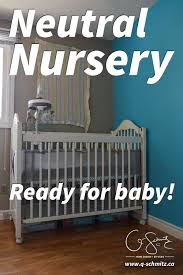 I finished our neutral nursery, and I've got all the essentials (crib