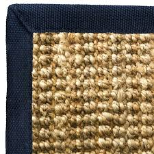 west elm jute boucle rug flax with black border