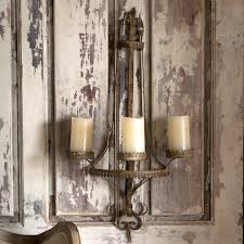 filigree wall sconce candle holder