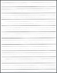 Lined Paper Template Kindergarten Atlasapp Co