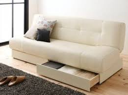 Sofa storage bench