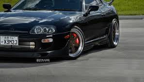Toyota Supra On Satin Bronze Rims Take Us On a Trip Down Memory ...
