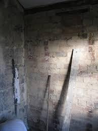 preparing walls for tiling removing