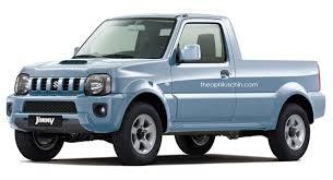 Sure, We'll Take This Suzuki Jimny Pickup Rendering | Carscoops