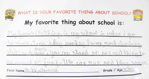 what is your favorite thing about school the sandbox my favorite