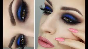 blue eyeshadow tutorial giulianna