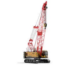 50 Ton Crawler Crane Load Chart Sany Scc550a Crawler Crane For Sale Crawler Cranes Price