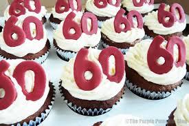 60th Birthday Cupcake Designs Easy Wwwpicswecom