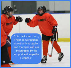 """what gay hockey means to me"" essays published and  shelly kennedy"