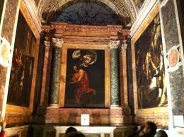 the contarelli chapel san luigi del francese rome author s collection