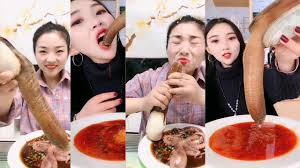 CHINA MUKBANG ASMR GEODUCK EATING SHOW ...