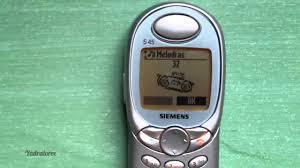 siemens s45 retro review old ringtones games vine cell phone