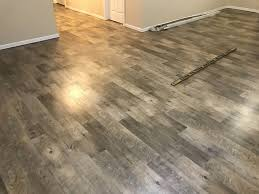 dockside sand mannington adura luxury vinyl plank glue down in basement weathered pine in 2018 vinyl floors
