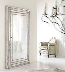furniture accents melange glamour floor mirror jewelry armoire