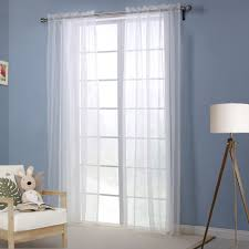 White Living Room Curtains Window Curtain Living Room White Curtains For The Bedroom Solid