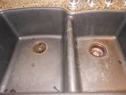 Kitchen Sinks Granite Composite How To Clean A Granite Composite Sink At Margaretas Haus