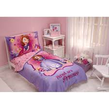 disney sofia the first 3pc toddler bedding set with bonus matching pillow case com