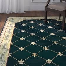 bold idea fleur de lis rug rugs com united weavers of america french quarter area 1 10 x 3 olive