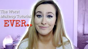 i m back with a bad makeup tutorial y all