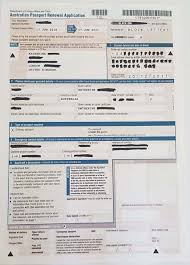Passport Renewal Application Form Awesome How To Renew Your Australian Passport In The UK Kat's Gone Global
