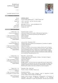 Resume Cv European Therpgmovie
