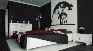 red and black wall painting