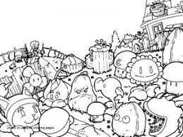 Plants Vs Zombies Coloring Pages Free Coloring Sheets