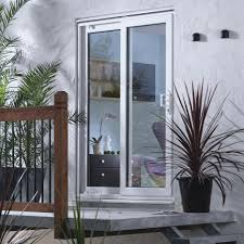 6ft white pvcu patio patio door frame pack departments diy at bq  stokkelandfo Image collections