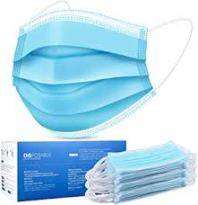 <b>Disposable Face Mask</b>, Face Masks of 50 Pack Disposable Mask