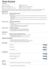 Resume Format For Engineers 190 Densatilorg