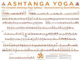 ashtanga vinyasa krama yoga at home the plete ashtanga yoga syllabus demonstrated by david williams