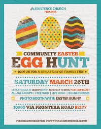 Community Wide Easter Egg Hunt Existence Church San Diego