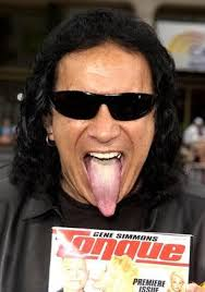 gene simmons son tongue. gene simmons son tongue s