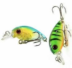 Fishing Lure Wobbler <b>Minnow</b> Swimbait Tackle <b>45mm</b> 4.1g Pike ...