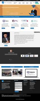 Web Designing Course In Mumbai Web Design Example A Page On Zoctech Com Crayon