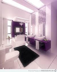 purple bathroom color ideas. Brilliant Ideas Lavender And White Color With Purple Bathroom Color Ideas E