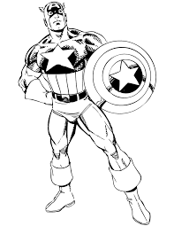 Small Picture Free Printable Captain America Coloring Pages H M Coloring Pages