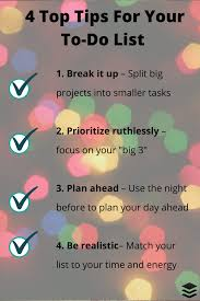 Prioritized To Do Lists The Surprising History Of The To Do List And How To Design One That