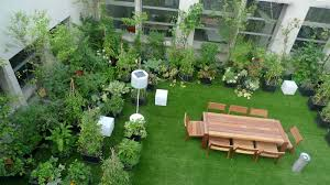 easy to install rooftop gardens terrace gardens india life in roof garden  Types of Plant to Decorate Roof Garden
